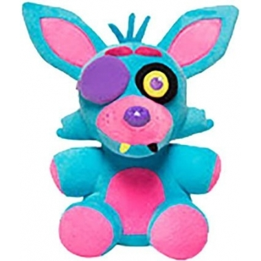 FNAF, Foxy Blacklight (albastru) Plus 18 cm