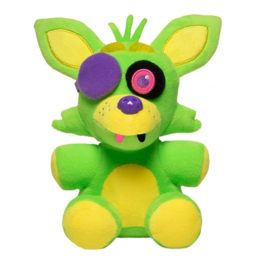 FNAF, Foxy Blacklight (verde) Plus 18 cm