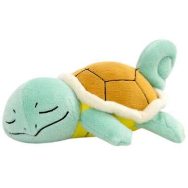 Pokemon, Jucarie Plus Sleeping Squirtle 16 cm