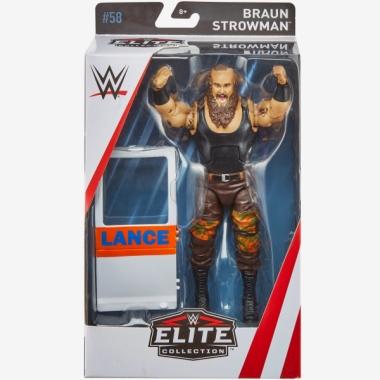 Figurina WWE Braun Strowman Elite 58, 18 cm