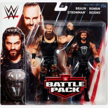 Braun Strowman & Roman Reigns, WWE Battle Packs 54