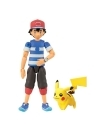 Pokemon Set 2 figurine Alolan Ash & Pikachu