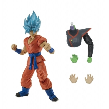 Figurina Super Saiyan Blue Goku 17 cm (Dragon Stars)