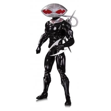 DC Essentials, Figurina articulata Black Manta 17 cm