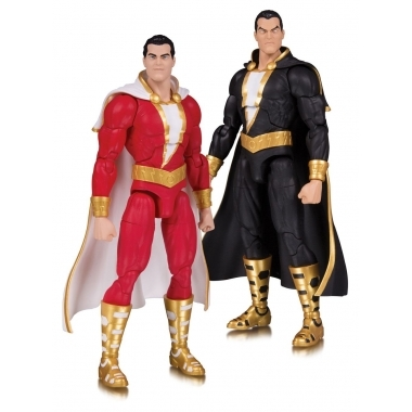 DC Essentials Action Figure 2-Pack Shazam! & Black Adam 18 cm