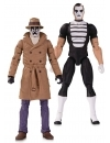 Doomsday Clock Action Figure 2-Pack Rorschach & Mime 18 cm