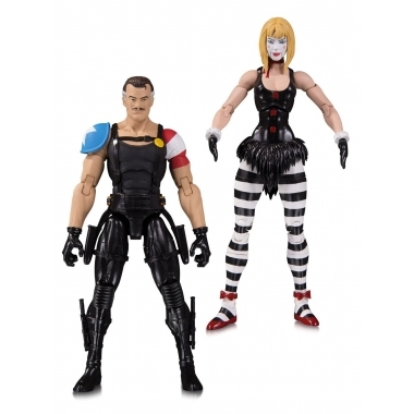 Doomsday Clock Action Figure 2-Pack The Comedian & Marionette 18 cm