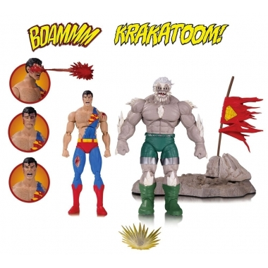 DC Comics Icons Action Figure 2-Pack The Death of Superman 15 cm