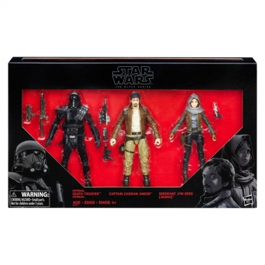 Star Wars, Set 3 figurine Rebels vs. Imperials 2016 Exclusive 15 cm