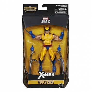 Marvel Legends, Figurina Wolverine (Apocalypse BAF) 15 cm