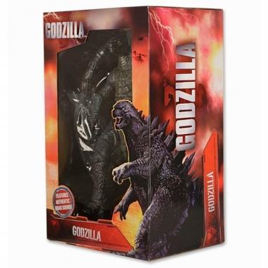 Figurina Godzilla 2014, cu sunete 61 cm (de la cap la coada), 30 cm inaltime