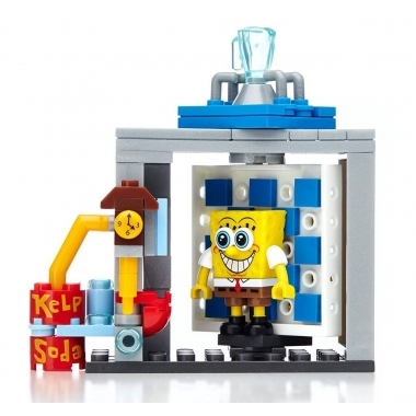 SpongeBob Mega Bloks Photo Booth Time Machine