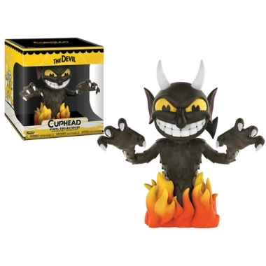 Cuphead - The Devil, Figurina FUnko POP!  15 cm