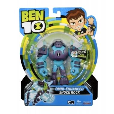 Ben 10, Figurina Shock Rock 12 cm (Omni-Enhanced)