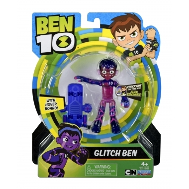 Ben 10, Figurina Glitch Ben 12 cm (multicolor)