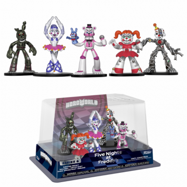 FNAF HeroWorld - Set 5 minifigurine 10 cm
