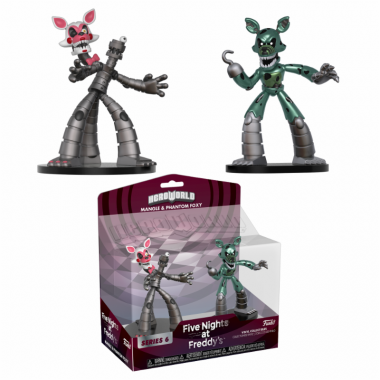 FNAF HeroWorld - Phantom Foxy & Mangle 10 cm