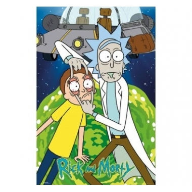 Rick and Morty Poster 61 x 91 cm