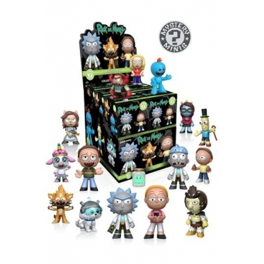 Rick and Morty Mystery Mini Figures 5 cm