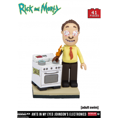 Rick and Morty Micro Construction Set Ants in my Eyes Johnson's Electronics 41 piese