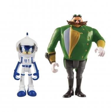 Sonic Boom, Spacesuit Sonic & Prallel Universe Villain 8 cm