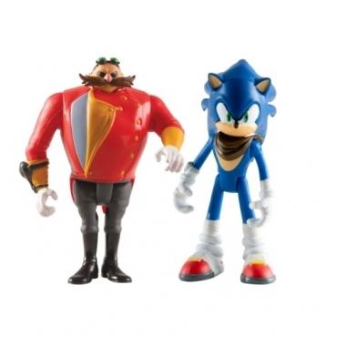 Sonic Boom, Sonic & Dr Eggman 10/7 cm