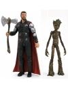 Avengers Infinity War,  Thor & Groot 18 cm