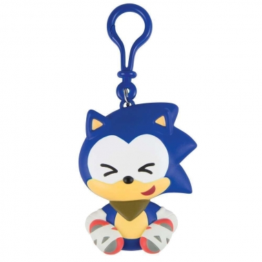 Sonic Boom, Clip On Emoji Sonic (cute) 7 cm