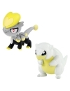 Pokemon, Set 2 figurine Alolan Sandshrew vs Jangmo-o 5 cm