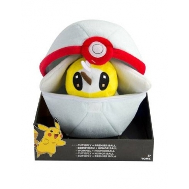 Pokemon, Jucarie plus Cutiefly cu Premier Ball 20