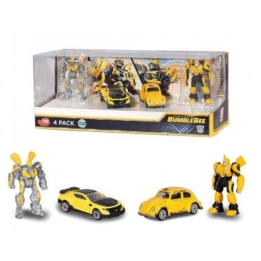 Transformers Bumblebee 1/64 Diecast Models 4-Pack 6 cm
