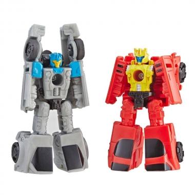 Transformers Siege Autobot Race Car Patrol (Roadhandler & Swindler) 4 cm