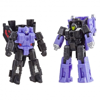 Transformers Siege Decepticon Air Strike Patrol  (Storm Cloud & Visper) 4 cm