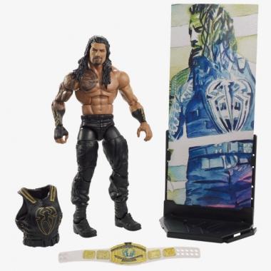 Figurina WWE Roman Reigns Elite 62, 18 cm