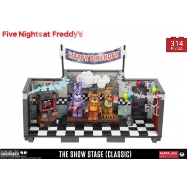FNAF Set Constructie Showstage (Classic Series) 314 piese