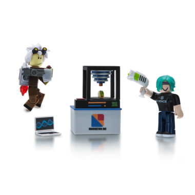 ROBLOX, Innovation Labs Set 2 figurine 6 cm