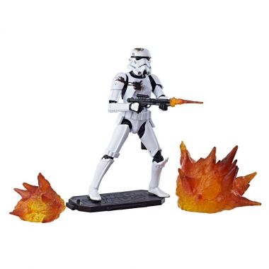 Figurina Stormtrooper with Blast Accessories Exclusive 15 cm