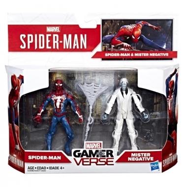 Spider-Man & Mister Negative, Marvel Gamerverse 10 cm