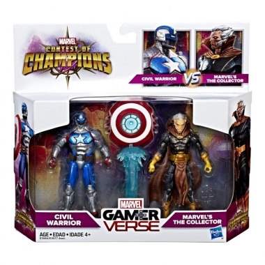 Civil Warrior & The Collector, Marvel Gamerverse 10 cm