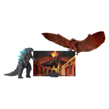 Godzilla King of the Monsters Matchups Figurina  Godzilla & Rodan 9 cm (iulie 2019)