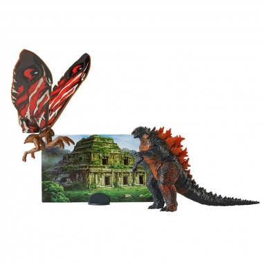 Godzilla King of the Monsters Matchups Action Figurina Fire Godzilla & Mothra 9 cm (iulie 2019)