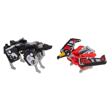 Transformers Generations War for Cybertron: Laserbeak & Ravage 4 cm