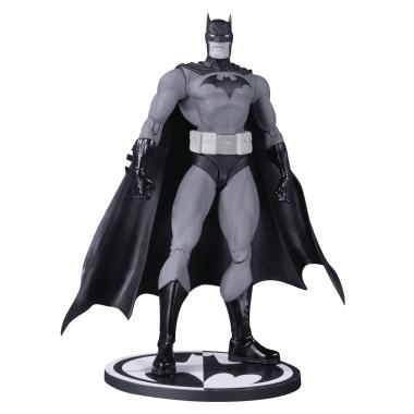 Batman Black & White Hush Batman by Jim Lee 17 cm