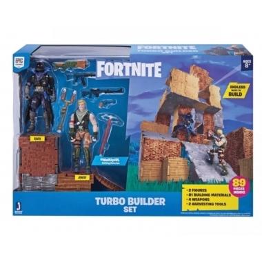 Fortnite Turbo Set Constructie cu Figurine si accesorii