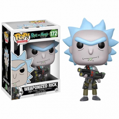 Rick and Morty POP! Animation Figurina Weaponized Rick 10 cm