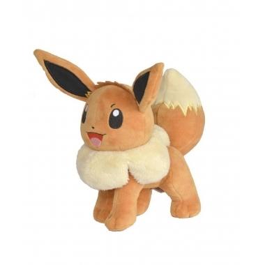 Pokemon, Jucarie de plus Eevee 20 cm