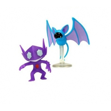 Pokemon, Set 2 figurine Sableye & Zubat, 5 cm