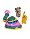 Pokemon Set 3 Minifigurine Pikachu, Rockruff & Alolan Muk 5-7 cm