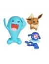 Pokemon Set 3 Minifigurine Popplio, Eevee & Wobbuffet 5-7 cm