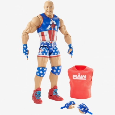 Figurina WWE Kurt Angle Elite 66, 18 cm